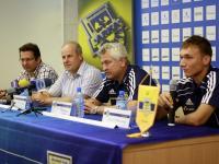 Konferencja prasowa przed meczem z Olimpią Elbląg