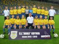 Arka '03 druga w Kaszub Cup 03/04