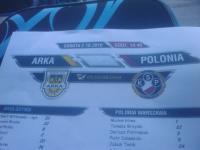 Kadra Polonii na mecz z Arką