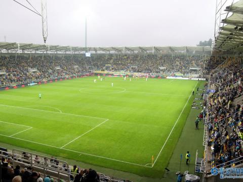 Rozpoczęto wymianę murawy na stadionie