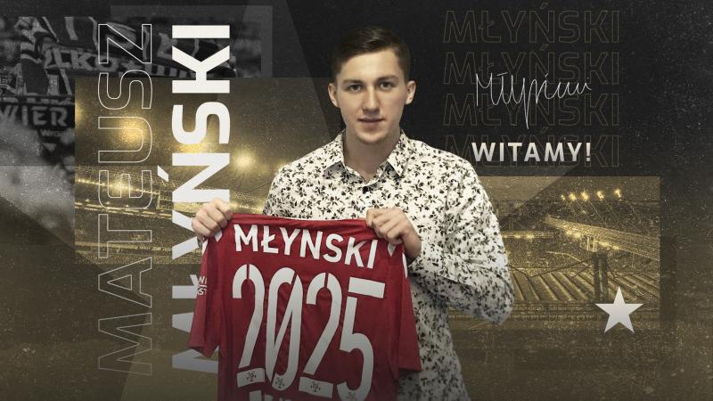 Mateusz Młyński od 1 lipca w Wiśle Kraków
