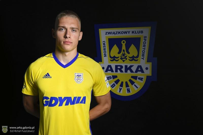 Oskar Repka zawodnikiem Arki