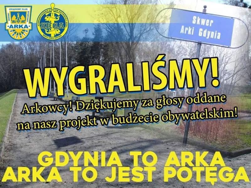 Odnowimy Skwer Arki Gdynia!