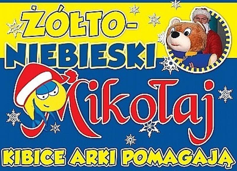 Żółto-Niebieski Mikołaj wyruszył w trasę!