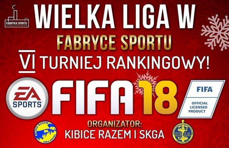 VI turniej w FIFA18 już w niedzielę