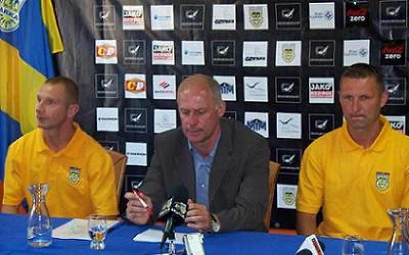 Konferencja prasowa przed meczem z Zagłębiem